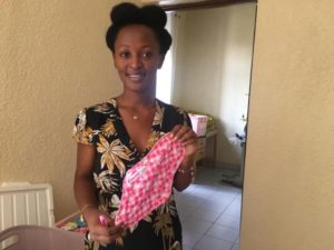 Rwanda woman fighting against expensive periods
