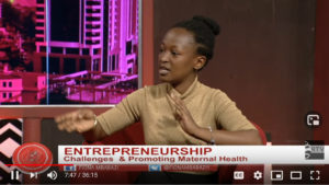 ENTREPRENEURSHIP, Challenges & Promoting Maternal Health